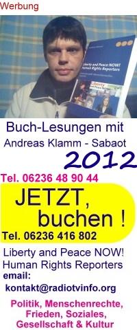Buchlesungen 2012